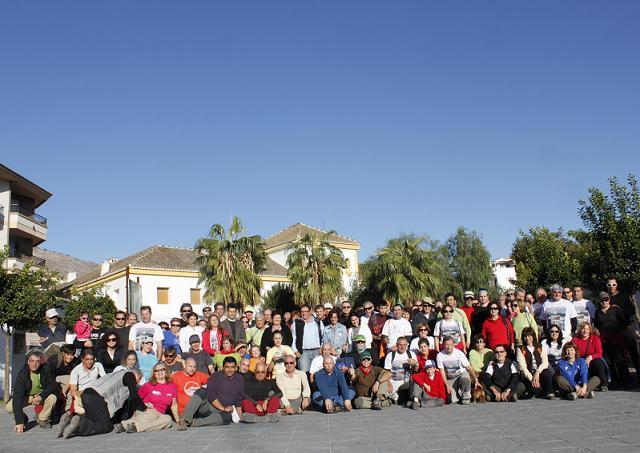 170 senderistas se dan cita en la III Marcha Popular de la Alpujarra