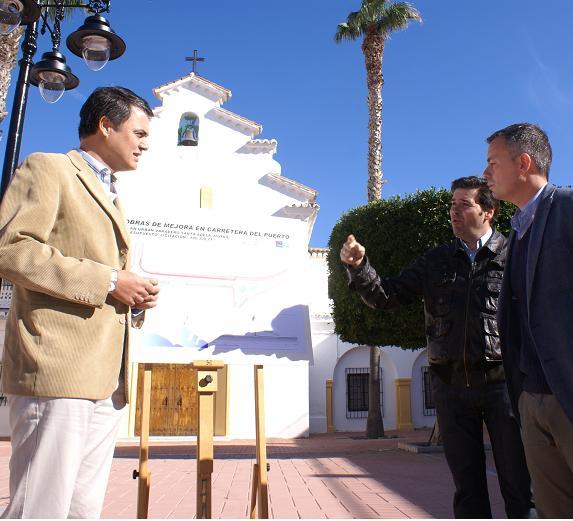 Rojas anuncia obras de mejora de viales desde la Avenida Julio Moreno a Santa Adela