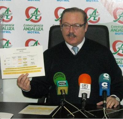 Luís Rubiales ha exigido al Gobierno de Carlos Rojas mejoras para el sector del taxi