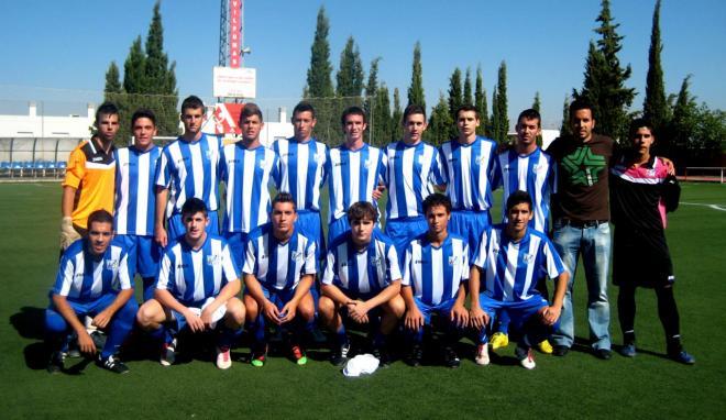 El juvenil  Motril CF gana 3-0 al Atarfe y alcanza el liderato