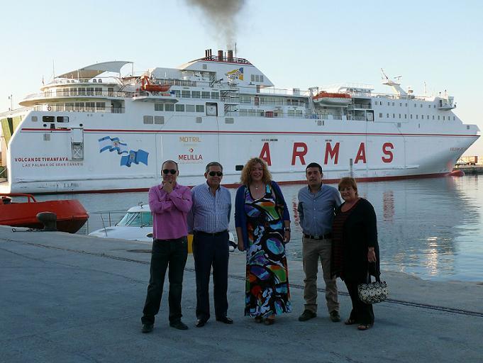 El PSOE destaca el nuevo logro de la Autoridad Portuaria tras la incorporación de la empresa Terminal Marítima de Granada como nuevo operador portuario