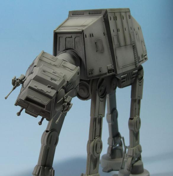 Star Wars andador AT-AT All Terrain Armored Transport (Transporte Blindado Todo Terreno) por Alberto Toquero Puerta