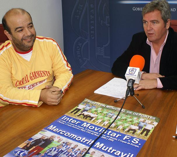 """Llega a Motril la """"Gira Megacracks"""", protagonizada por el mejor equipo de fútbol sala del mundo actual: el Ínter Movistar"""