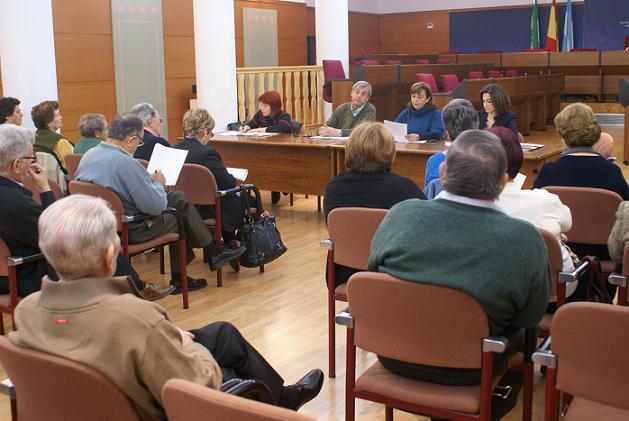 Los mayores celebran su asamblea municipal para hacer un balance del año y programar nuevas actividades