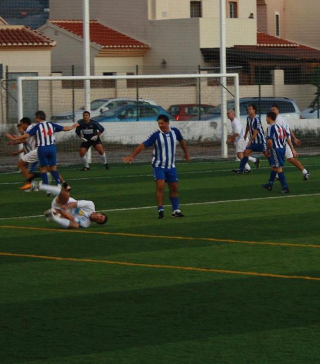 El Motril CF veteranos empató 1-1 frente al Cultural Marbella
