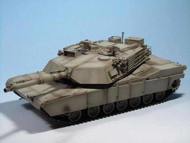 Modelismo: M1  Abrams por Francisco Pinos Cabrera