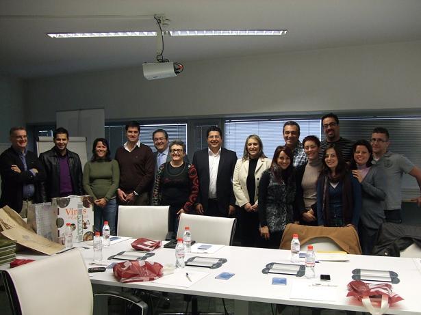 La diputada de Empleo recibe a una delegación de Tenerife en el CIE para compartir experiencias en empleo y desarrollo local