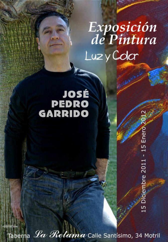 Jose Pedro Garrido expone desde el 15 de diciembre en La Retama de Motril