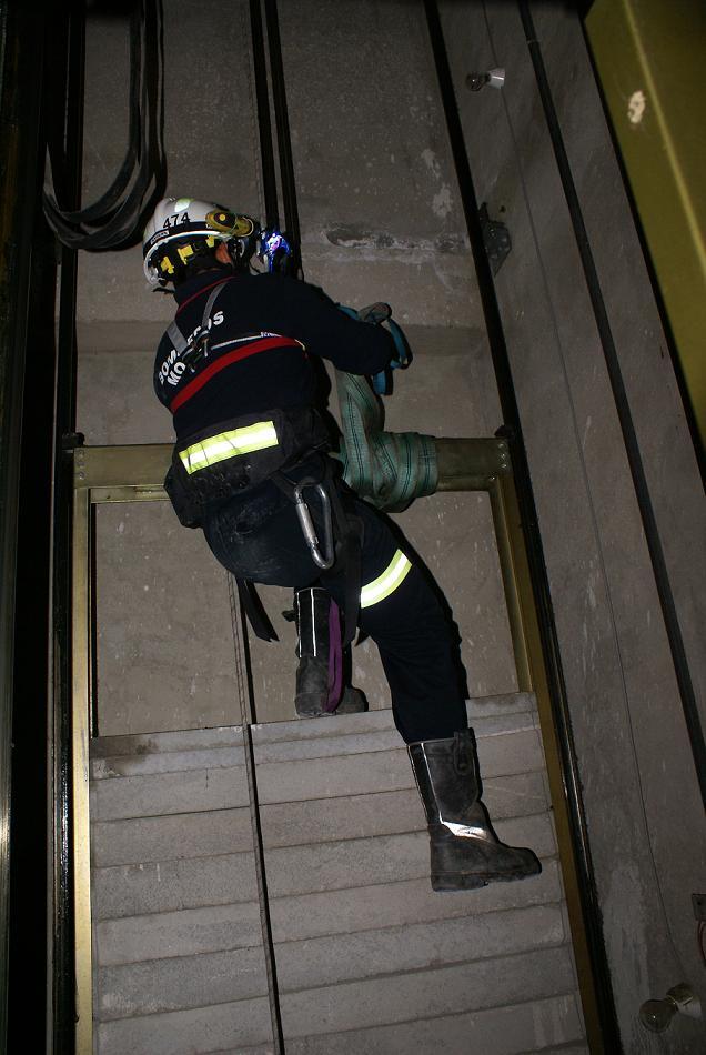 Los Bomberos de Motril amplían su formación con nuevas técnicas de rescate