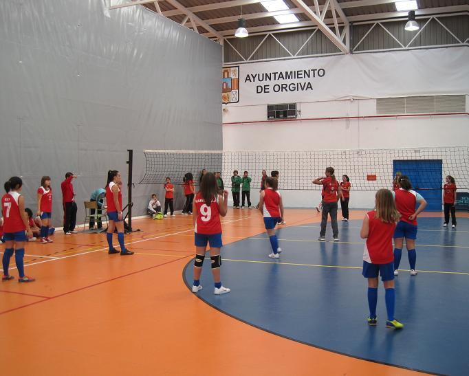 400 deportistas del sur de la provincia se dan cita en Órgiva