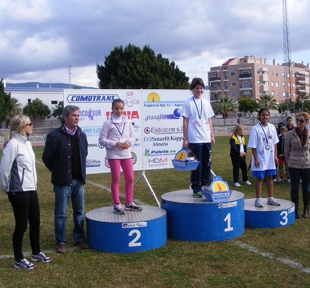 Los XVI Juegos Escolares de Atletismo finalizan con 300 atletas participantes