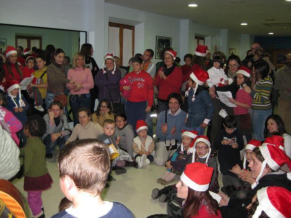 Las familias del CAIT celebran la Navidad