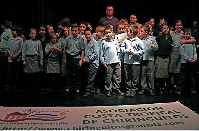 El Colegio San Juan de Ávila de La Caleta gana el primer premio del concurso de villancicos