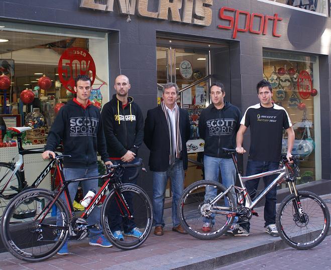 Los motrileños Marco Fernández y Antonio José Cardona, fichados por la prestigiosa marca deportiva Scott