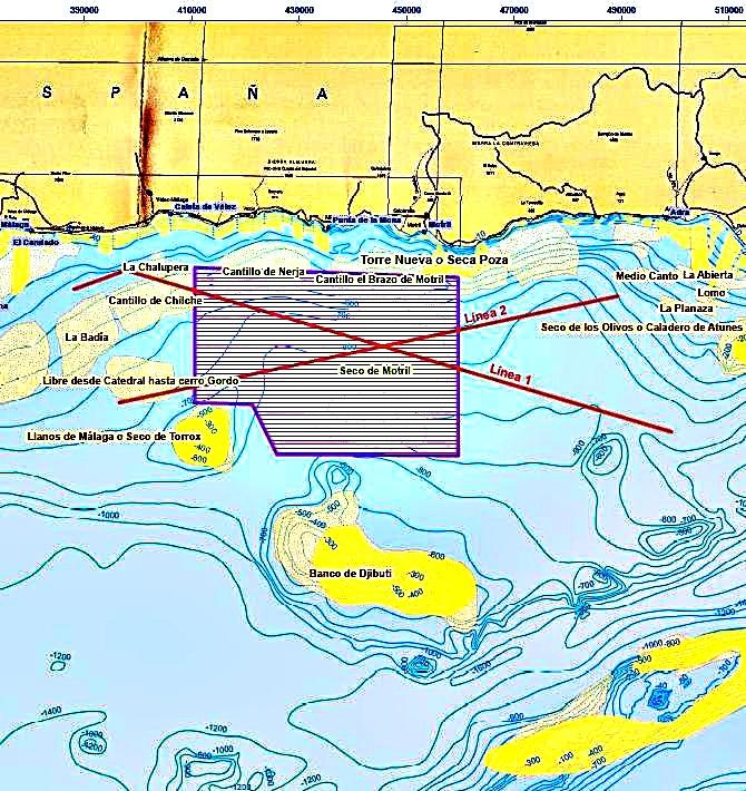 La Asociación Buxus y Ecologistas en Acción se oponen a que se busque gas bajo el mar frente al cabo Sacratif por el daño ecológico que se haría
