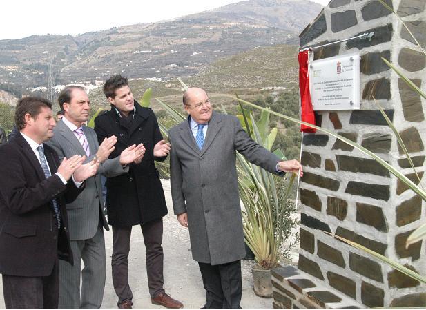 Diputación invierte 400.000 euros en el centro de gestión de escombros de Lanjarón