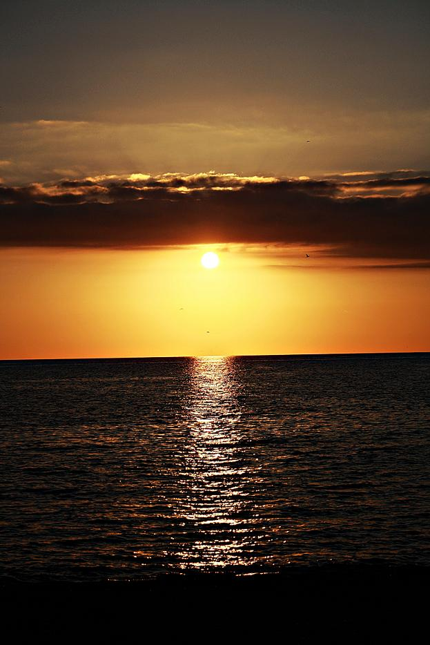 Puesta de sol del 13 de enero de 2012