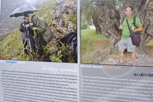 El calendario ambiental 2012 rinde homenaje a los profesores naturalistas, Paco Tarragona y Antonio García