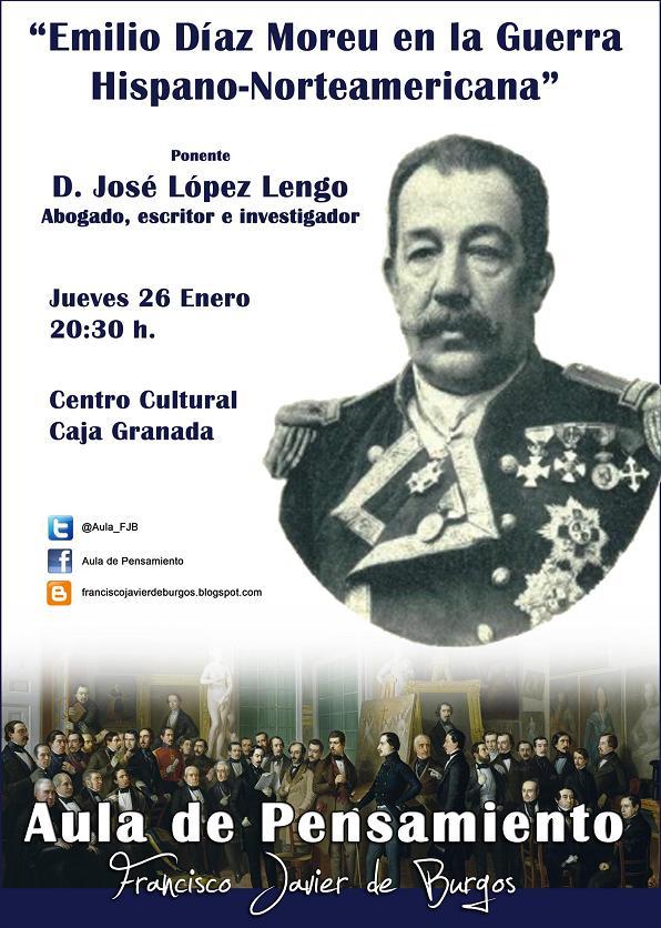 Pepe López Lengo hablará sobre Díaz Moreu en el Aula de Pensamiento