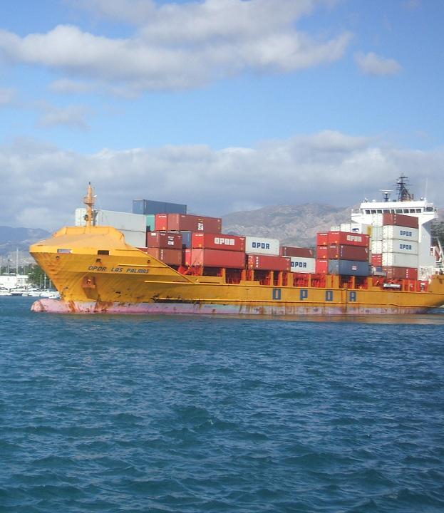 Por el puerto de Motril pasaron 2,1 millones de toneladas de mercancías
