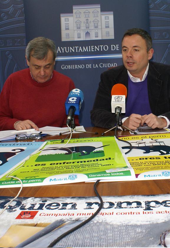 El Ayuntamiento de Motril sancionará los actos vandálico con multas que van de los 300 a 3.000 euros