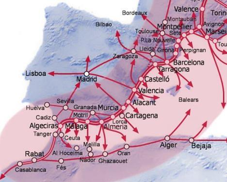El gobierno contempla un Corredor Ferroviario del Mediterráneo por Motril