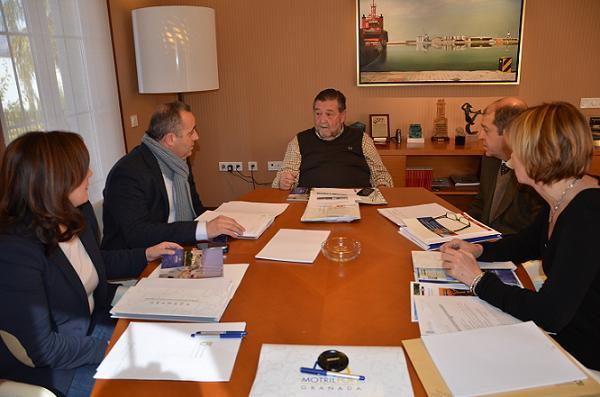 Diputación de Granada y Autoridad Portuaria aúnan esfuerzos para promocionar el Puerto de Motril