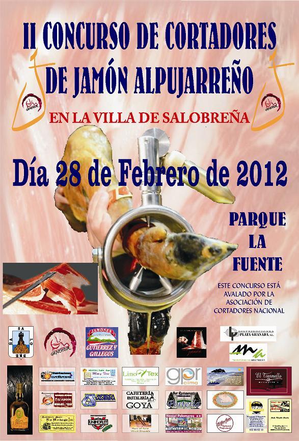 Genotur celebra este martes el II Concurso de Corte del Jamón en Salobreña