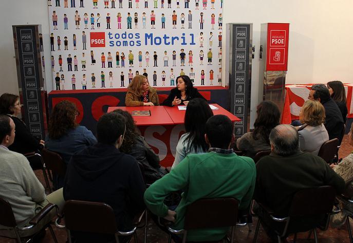 El PSOE expresa la necesidad de consolidar los derechos conseguidos en la lucha por la igualdad real entre hombres y mujeres