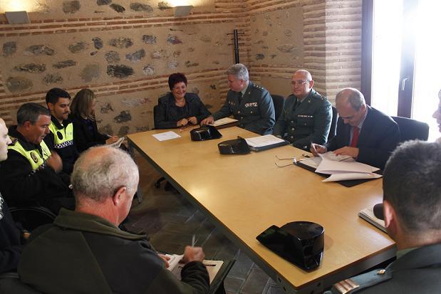 Órgiva acoge la reunión de la Junta Local de Seguridad