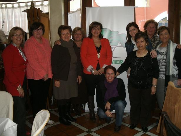 Afammer Granada comparte un desayuno con la prensa en el día internacional de la mujer