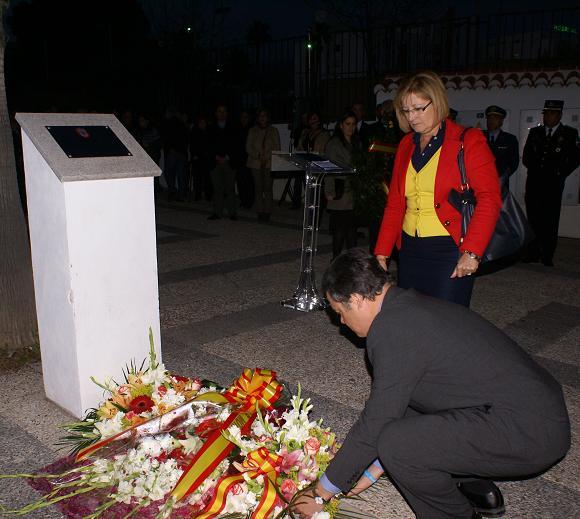 Motril homenajea a las víctimas con motivo del 11-M
