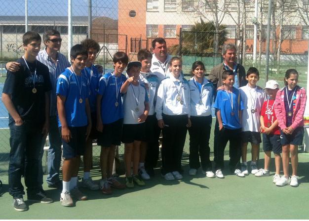 El tenis, también protagonista en el Día del Padre en Motril