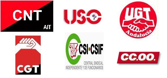 Los sindicatos en la huelga del 29-M