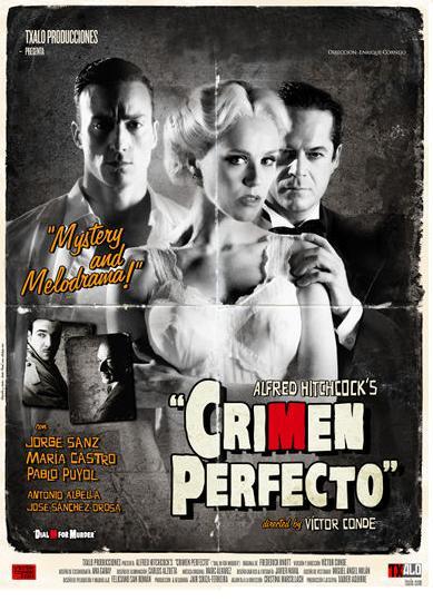 La obra 'Crimen Perfecto' aterriza este viernes en el teatro Calderón