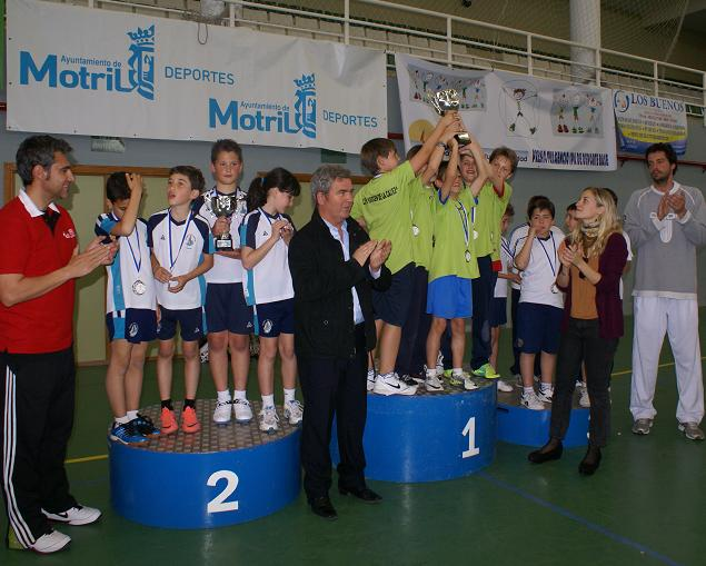 El Virgen de la Cabeza gana 3 de los 4 premios en los Juegos Escolares de Baloncesto