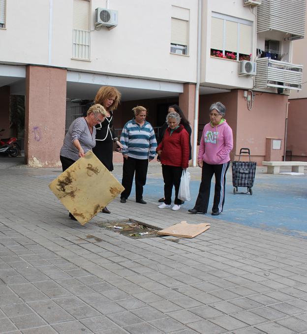 El PSOE pide la remodelación de los espacios públicos del Cuartel de Simancas tras constatar graves problemas de limpieza, seguridad y falta de mantenimiento
