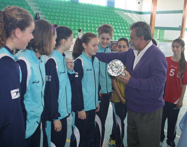 El Club Balonmano Almuñécar femenino alevín jugará el Campeonato de Andalucía
