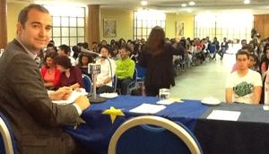 Más de 300 personas asisten a los actos del Día de Europa de Diputación Provincial