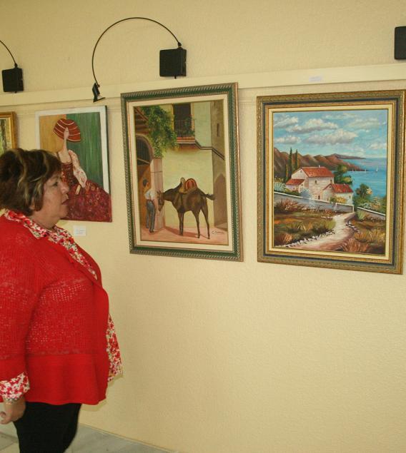 La sala de exposiciones acoge la exposición