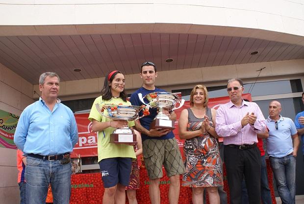 La Carrera de Granada-La Palma reúne a medio millar de participantes en su XVIII edición