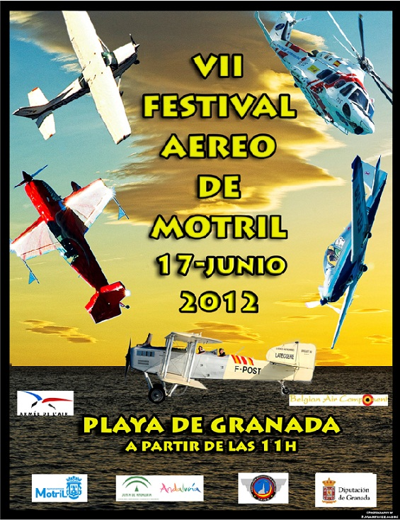 El próximo domingo se celebra el VII Festival Aéreo de Motril