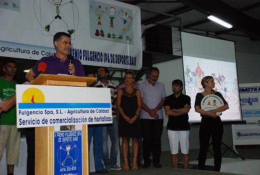Fulgencio Spa confirma la celebración de la tercera edición del Premio de Deporte Base