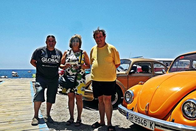 Una concentración de Volkswagen 'Escarabajo' inundan el Llano