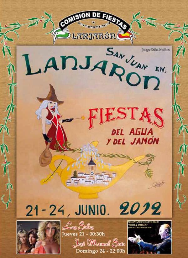 Las fiestas del Agua y el jamón en Lanjarón