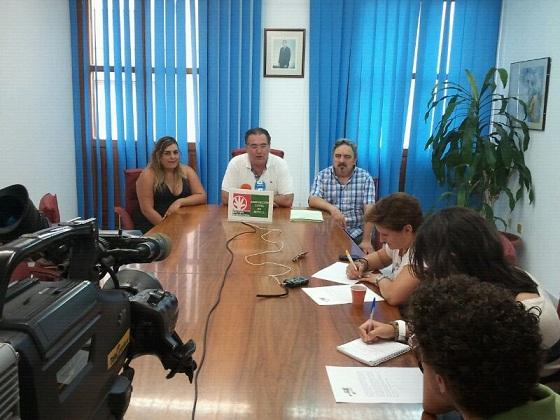 RUEDA DE PRENSA DE LA SECCIÓN SINDICAL DEL SAT EN CLAROS-MOTRIL
