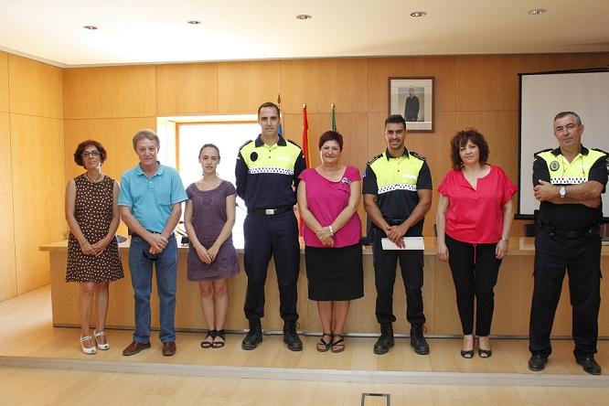 Toman posesión dos nuevos policías locales en Órgiva