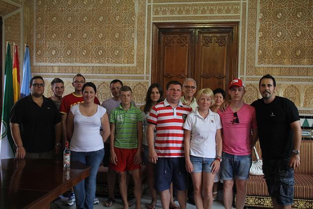 Un grupo de agentes de viajes de Rusia conoce Almuñécar esta semana