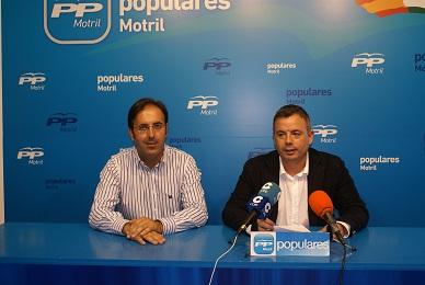 Mantener los puestos de trabajo en el ayuntamiento y crear empleo en Motril objetivos del equipo de gobierno municipal PP