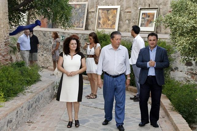 Mayor Zaragoza inaugura la exposición internacional SaloARTE & Turismo